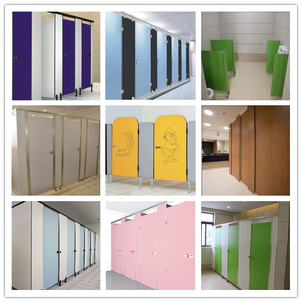 Toilet Partition Samples