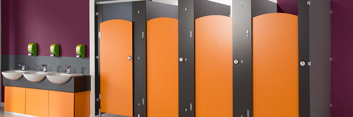 HPL Restroom Partition